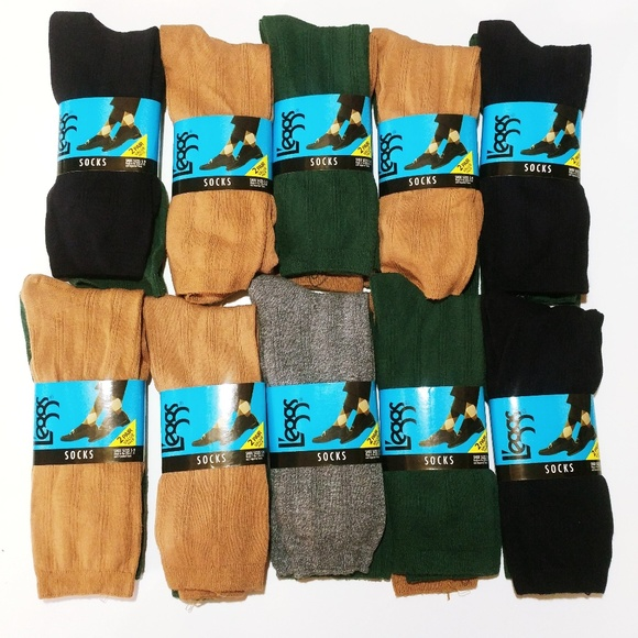 3545aa4c1 L eggs Womens Trouser Dress Crew Socks 20 Pair